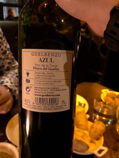 Guelbenzu Azul Label